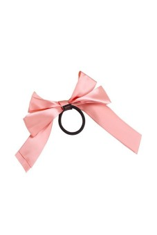 Ribbon Hair Band Scrunchie Hair Tie Rope Pink