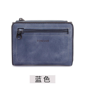 Rinka doll Jianyue female student Japanese and Korean style leather wallet women's wallet