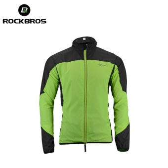 RockBros Cycling Coat Wind Coat Rain Coat Jackets Long SleeveSportwear - intl