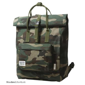 Rootote Ceoroo 2-Way Tote Backpack (Camouflage)