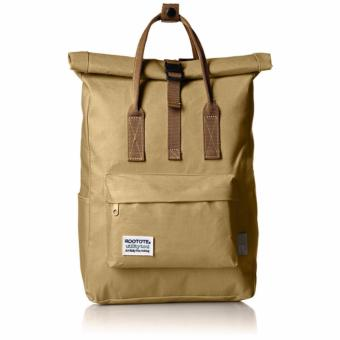 Rootote Ceoroo 2-Way Tote Backpack (Khaki)