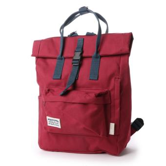 Rootote Ceoroo 2-Way Tote Backpack (Maroon)
