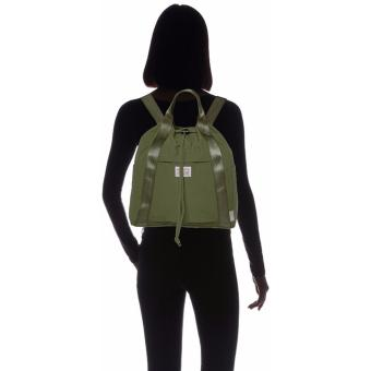 Rootote Ceoroo V2 2-Way Tote Backpack (Khaki) - 4