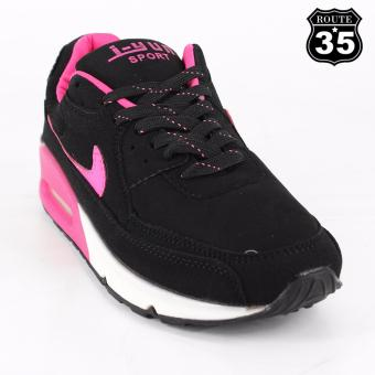 ROUTE35 Sierra Sneakers Rubber Shoes (Hot Pink JY360)