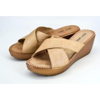Rusty Lopez Wedge Sandals (Beige)