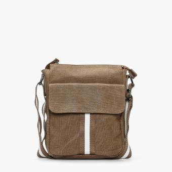 Salvatore Mann Aidan Sling Bag (Brown)