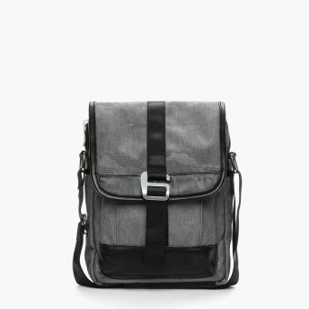 Salvatore Mann Daegan Sling Bag (Grey)