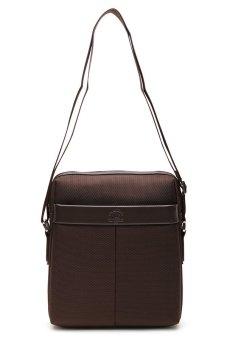Santa Barbara Polo & Racquet Club Essential Shoulder Bag (Brown)