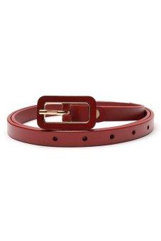 Santa Barbara Polo and Racquet Club Ladies' Belt (Red)