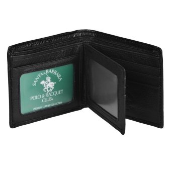 Santa Barbara Polo & Racquet Club Giancarlo Billfold Wallet(Black) - picture 2
