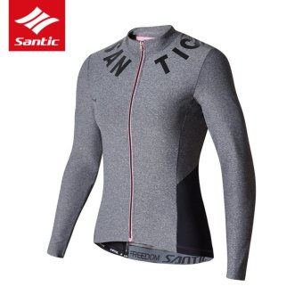 Santic Antu-UV Women Long Sleeves Cycling Jerseys Breathable Cycling Clothing Comfortable Bicycle Tops Bike Clothes Spring Summer - intl - 3