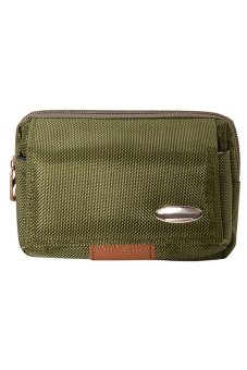 Sanwood® Men's Waist Bag Canvas Outdoor Hiking Pouch Army Green