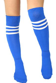 Sanwood® Over Knee Socks Blue