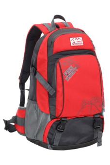 Sanwood® Unisex Travel Climbing School Bag Outdoor Backpack Red