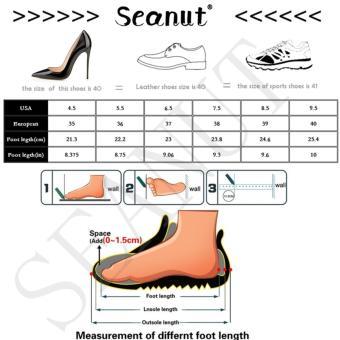Seanut Fashion Korean Women Shoes Spring Tenis Feminino Casual Shoes Outdoor Walking Shoes Women Flats Lace Up Ladies Shoes(Pink) - 5