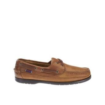 Sebago Schooner Boat Shoes (Cognac Leather)