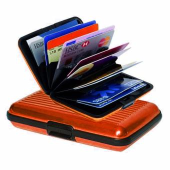 Security Credit Card Wallet (Orange) - 2