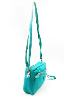 Seeingly Crest Sling Bag (Green) - picture 2