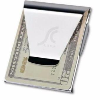 Set of 2 Double Sided Slim Money Clip - 2