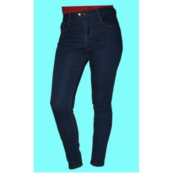 Sexy High Waist Denim Jeans Stretchable Slim Full Length Pants(P#9919)