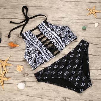 Sexy Ladies Beach Bikinis Swimming Wear Lace Bra Beachwear Suit- M - intl