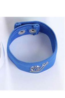 Sexy Men Male Underwear Thong C-strap Mention Ring Bracelet (Blue)