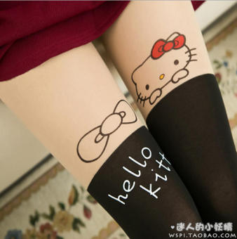 Sexy silk anti-hook pantyhose Silk socks (10 Hello Kitty) Price Philippines