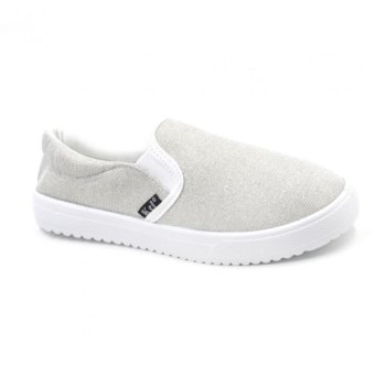 Shaine 2016-7 Low Cut High Quality Sneakers Slip On Women's RubberShoes (cream)