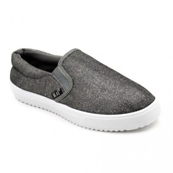 Shaine 2016-7 Low Cut High Quality Sneakers Slip On Women's RubberShoes (dark grey)