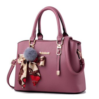 Shishang New style shoulder winter women's bag (Leather powder-to send VT wallet)