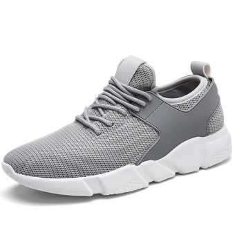 Shishang student male men's casual mesh shoes Shoes (YG3017 gray)