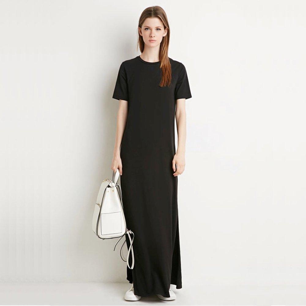 Black black t shirt maxi dress - Black Black T Shirt Maxi Dress 30