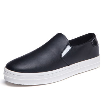 Simple Fashion Men's Loafers – Black