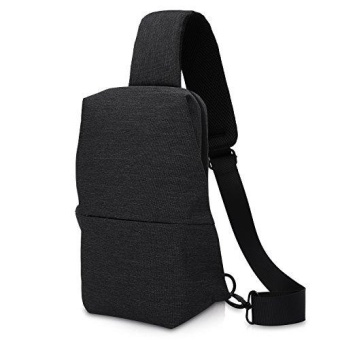 Simplicity Sling Bag Chest Pack Casual Crossbody Travel Shoulder Bag for Women Men - intl