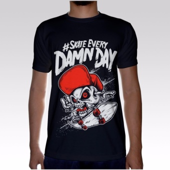 Skate Everyday Unique Design Graphic T-shirt Price Philippines