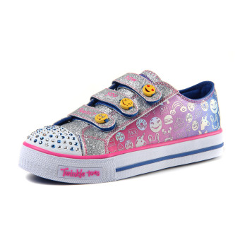 Skechers female New style flash shoes children's shoes