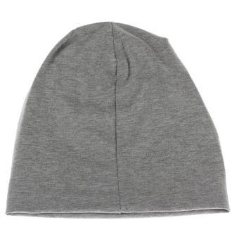 Skull Soft Hat Cap (Grey) - picture 2