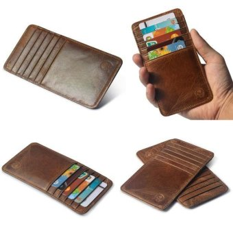 Slim Credit Card Holder Mini Wallet ID Case Purse Bag Pouch - intl