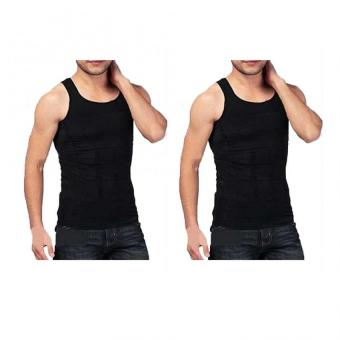 Slim N Lift Slimming Vest for Men (Black) Set of 2