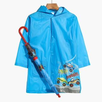 SM Accessories Boom Crash Raincoat and Umbrella Set (M)