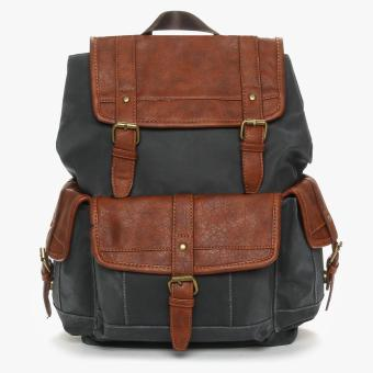 SM Accessories Mens Backpack (Grey)