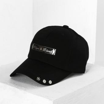 SM Accessories Mens Baseball Cap (Black)