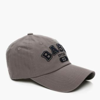 SM Accessories Mens Baseball Cap (Grey)