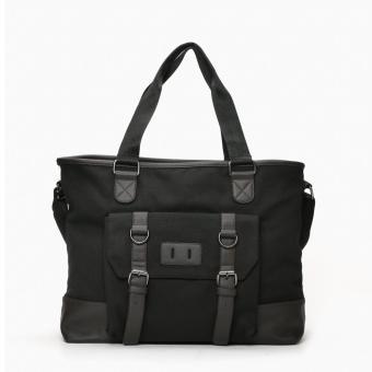 SM Accessories Mens Duffel Bag (Black)