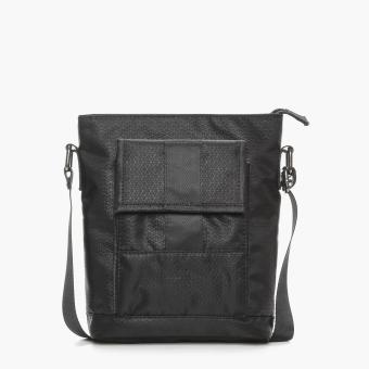 SM Accessories Mens Sling Bag (Black)