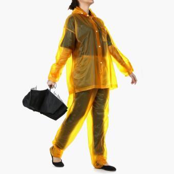 SM Accessories Rainsuit and Compact Umbrella Set