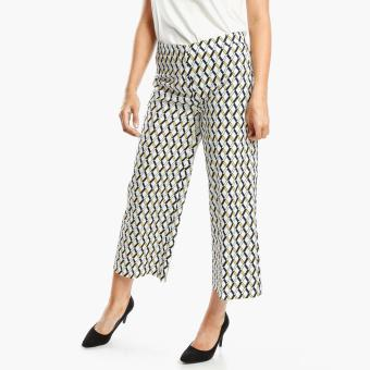 SM Woman Career Diamond Straight Leg Pants (Yellow)