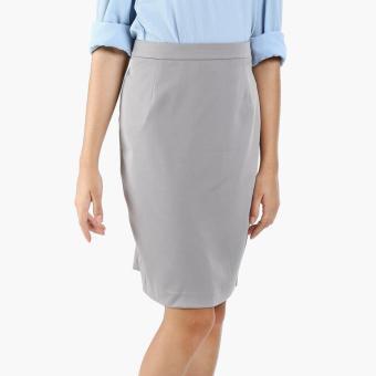 SM Woman Career Pencil Skirt (Gray)