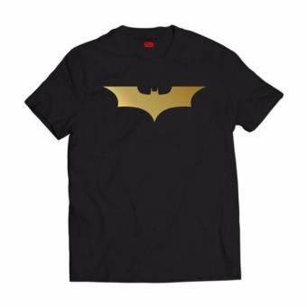 Smartieshirt Batman For Men Black Gold