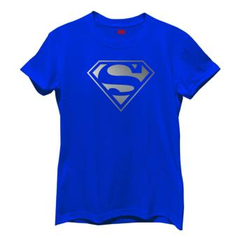 Smartieshirt Supergirl for Women (Blue)